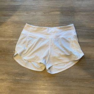 """Lululemon speed up shorts (4"""")"""